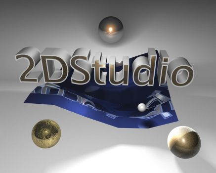 3D try by 2Dstudio