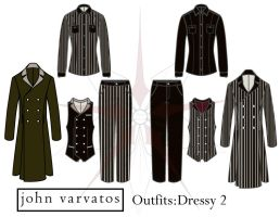 Design I - Project 4: Dressy Outfit 2 by SeikoMiwarui