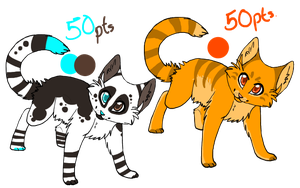 Cat Adoptables.CLOSED by ipann