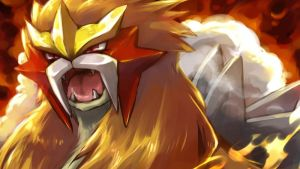 Entei by Altair150