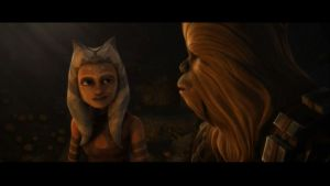 Ahsoka and Chewie by The-Heavy-D
