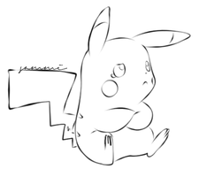 Pikachu Undone by ensnarings