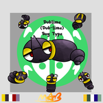 My own Fakemon Dublime! (Has Speedpaint) by TheDrawingMorgs