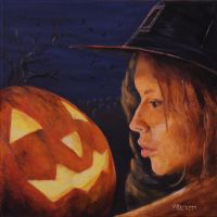 Pumpkin Witch by spudsy2