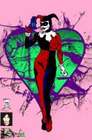 Harley Quinn's Heart  colab by CDL113