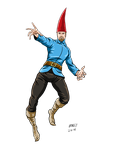 Hero Commissions: The Gnome by Bracey100
