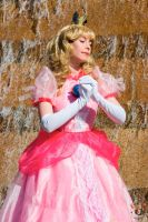 Princess Peach - Waterfall 2 by MandyNeko