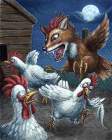 The Chickenfox. by Hungrysparrow