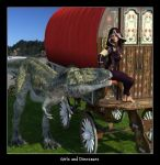 Girls and Dinosaurs 05 by CitizenOlek