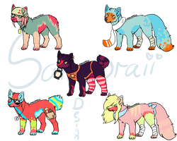 Original Adopts - Batch one. CLOSED by Samooraii