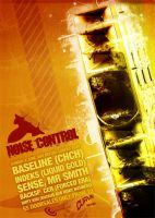 Noise Control Poster by snaxnz