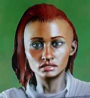 Delylah Trevelyan Front View by ChaosFay