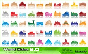 World Cities 2.0 by sa3er