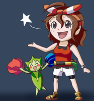 Trainer Rose Reporting for Battle! by Eleanorose123