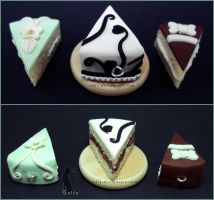 Fancy Fondant Cakes by Talty