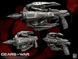 Gears of War Locust Torquebow by YemYam