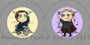x men fc badges by Ange07