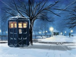 :: The Police Box by IronWarrior777