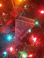 rock and roll hall of fame ornament by bixth