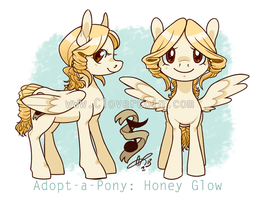 Adopt-a-Pony: Honey Glow Auction by CloverCoin