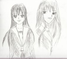Akito, the boyfriend stealer- Fruits Basket by kazumikikuchi