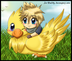 Cloud: -Friendship- by Isi-Daddy
