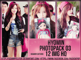 Hyomin (T-ARA) - PHOTOPACK#03 by JeffvinyTwilight