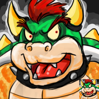 Scribble Icon Bowser by Songficcer