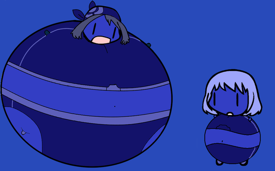 Blueberry Duel May Vs Violet Part 3 by BittyHeart