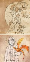 the hobbit sktchz by 1st-leutenant