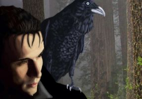 Wet Death and Shiver Crow by Lesleigh63