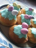 Easter Cupcakes :P by MaverickMae