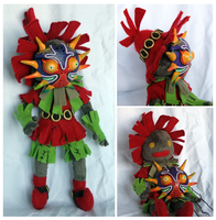 Skull Kid Doll- more shots by SilkenCat