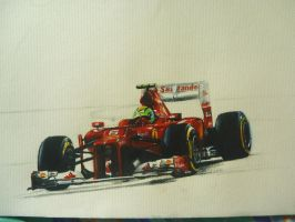 ferrari f2012 WIP by CaptainJoellie