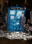 Doctor Who TARDIS Cake by RowlandCooney