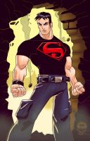 Superboy YoungJustice - ATU by EryckWebbGraphics