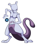 Mewtwo by Fourth-Star