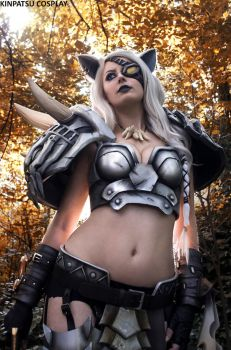 Rengar - League of Legends by Kinpatsu-Cosplay