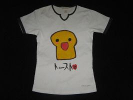 toast t-shirt by RaZero0