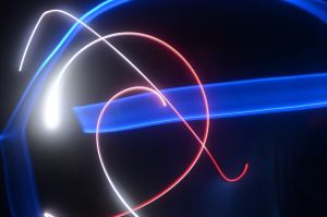 Light Drawing for Team USA by M-L-Griffith
