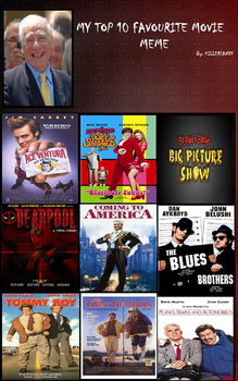 Top 10 Favorite Comedy Movies by Mr-Wolfman-Thomas