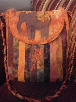 Purse with Elephant by BreakAllRules