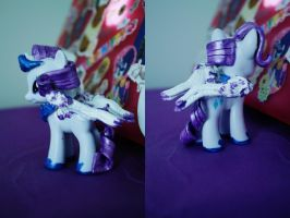 Princess Rarity Custom Sculpt by superayaa