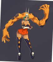 SkullGirls:Cerebella by ManiacPaint