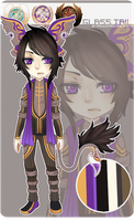[ Glass Tail ll AUCTION ] Eldritch [ CLOSED ] by PrinceProcrastinate