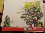 Rocket Raccoon #1 Blank Cover by DerFanboy