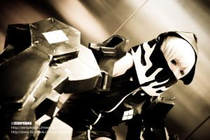 Black Rock Shooter Strength - II by QuanOdyssey