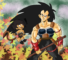Raditz and Bean by Budgies