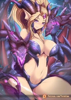 sorceress dragon zyra by TorahimeMax