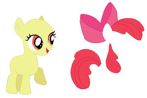 Apple Bloom Base by SelenaEde